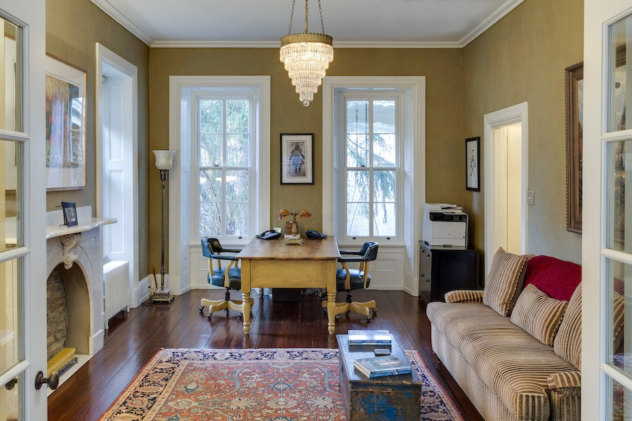 house for sale roxborough expanded italianate home office