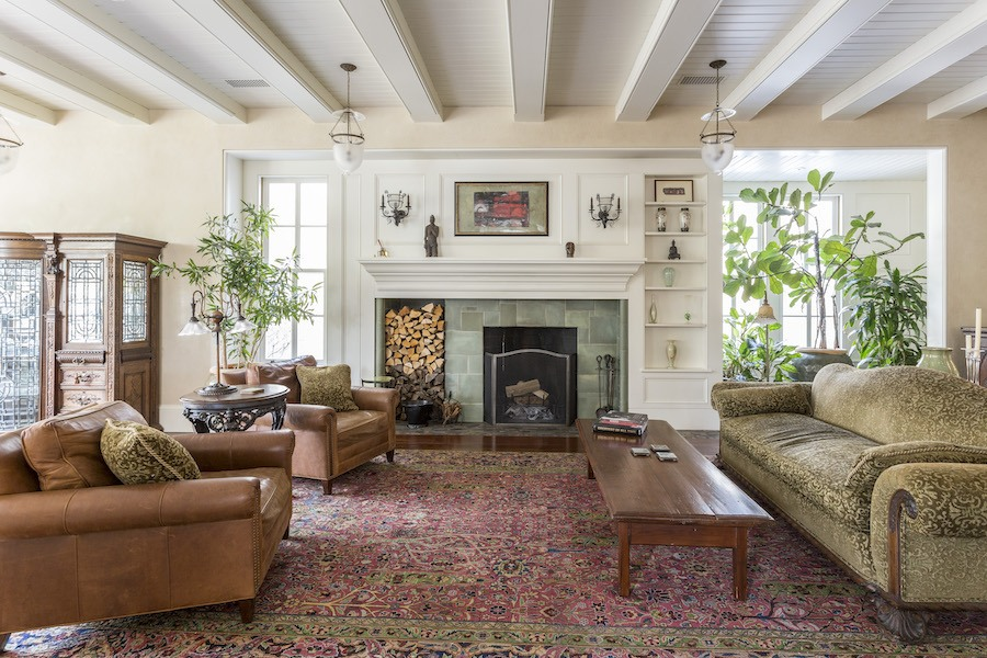 house for sale roxborough expanded italianate living room