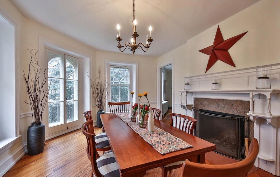 house for sale w mt airy victorian dining room