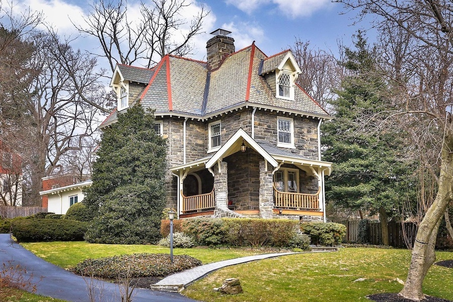 house for sale w mt airy victorian exterior front