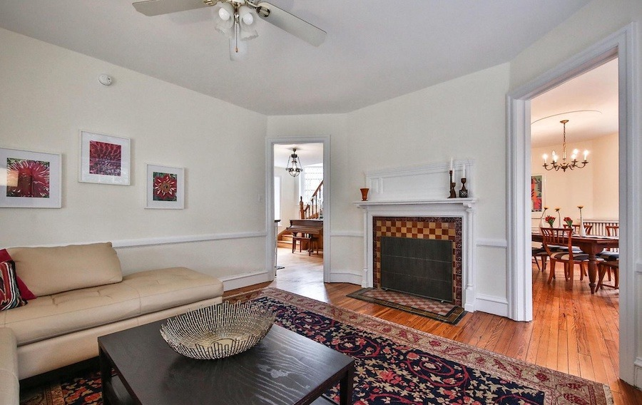 house for sale w mt airy victorian living room