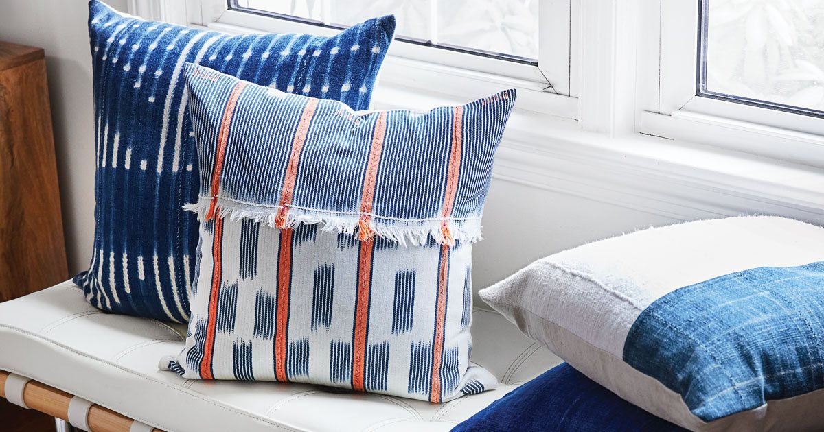 These Thorn Home Pillows Are What Your Couch Is Missing