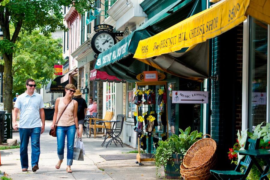 most expensive neighborhoods around philadelphia