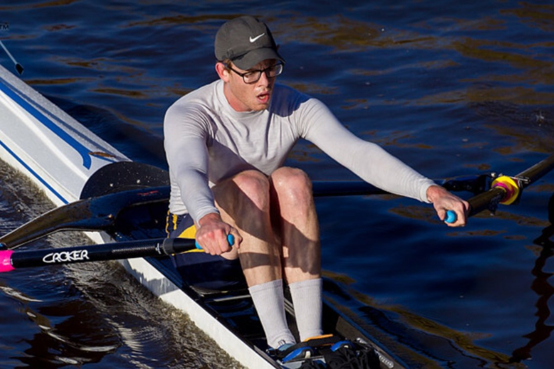 Olympic rowing hopeful