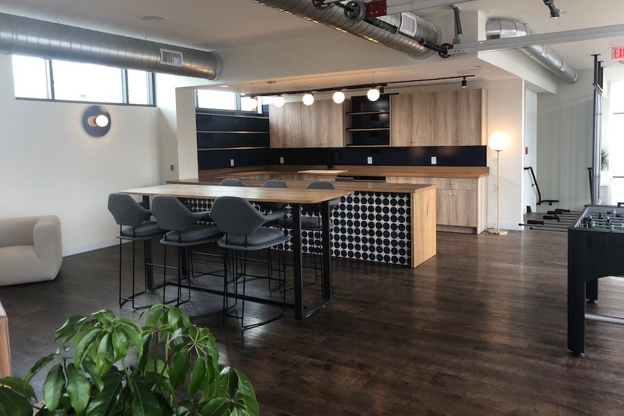 sixteen hundred lofts tour amenity clubhouse