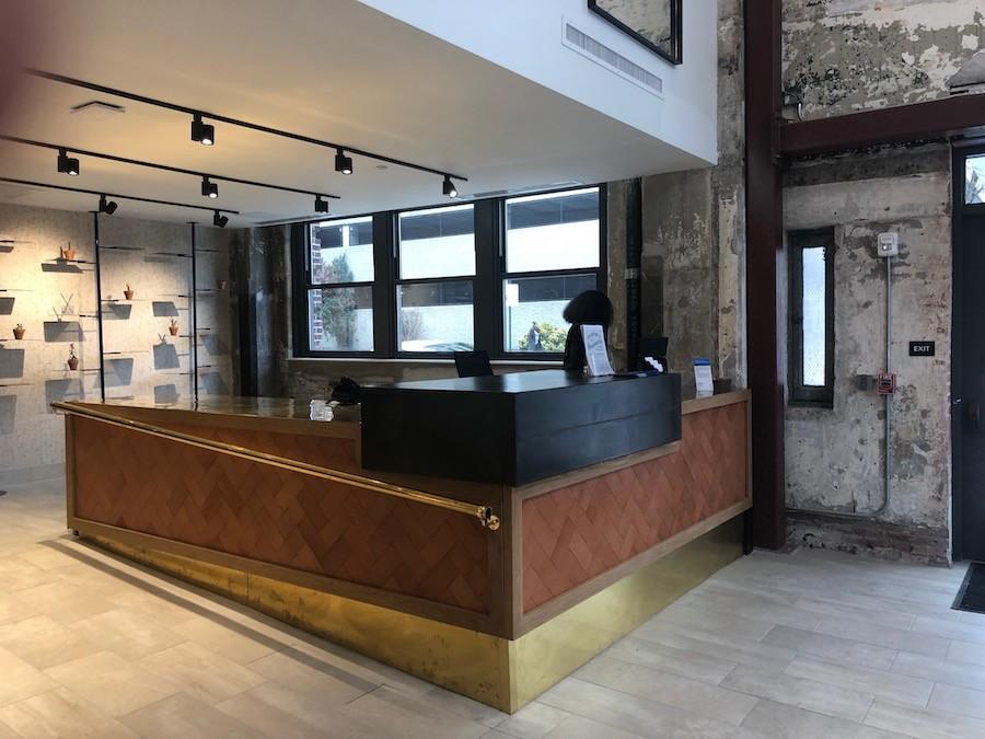 sixteen hundred lofts tour concierge desk