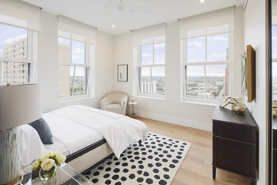 the atlantic apartments neoclassical 3br master bedroom