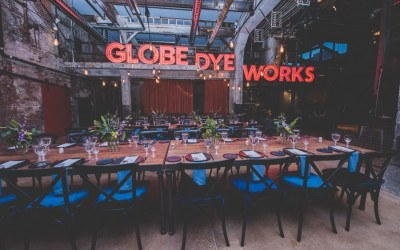 globe dye works wedding venue