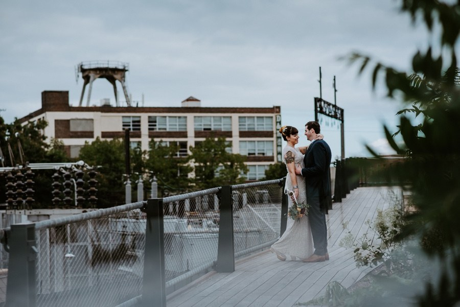 fishtown wedding portraits