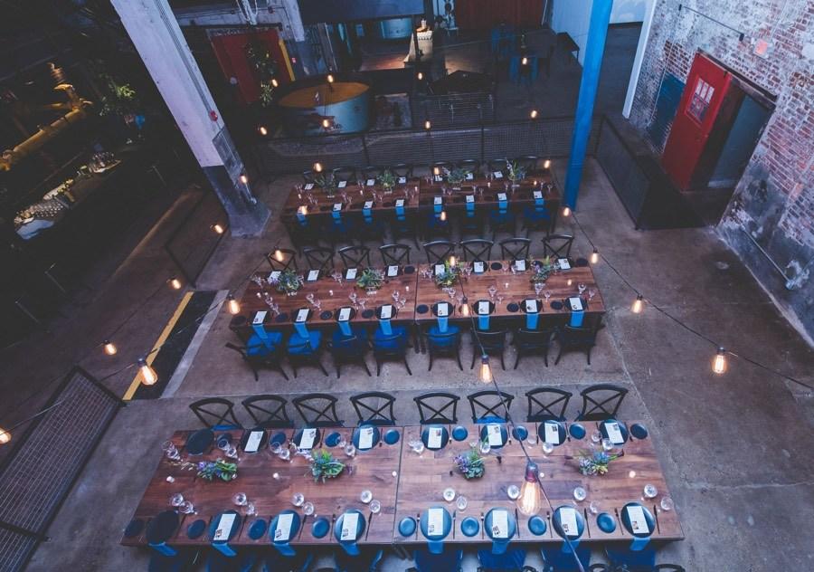 globe dye works wedding venue