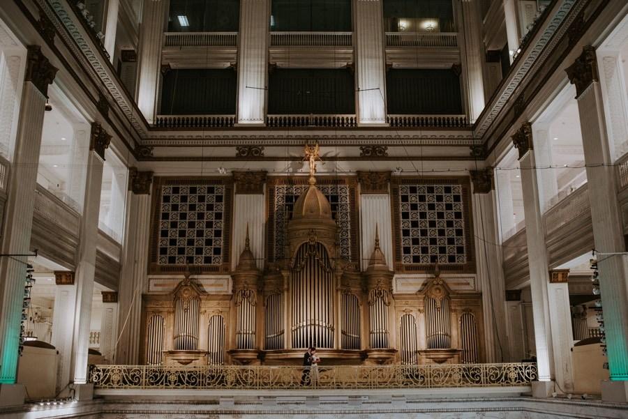 wanamaker organ wedding
