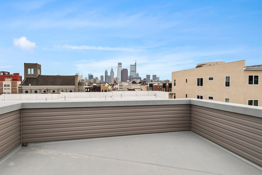 condo for sale francisville new bilevel roof deck
