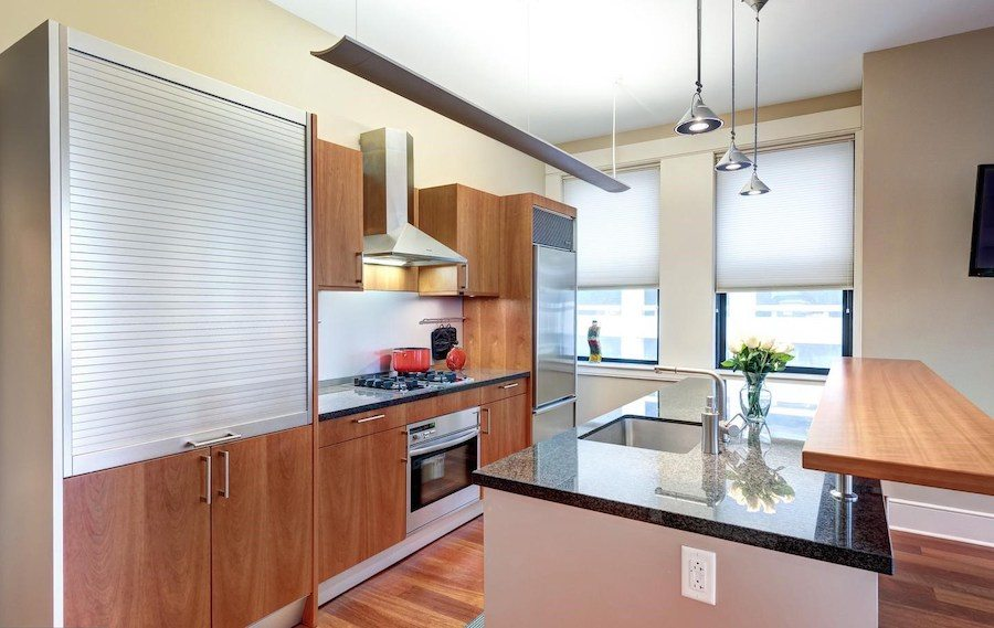 condo for sale rittenhouse modern unit kitchen