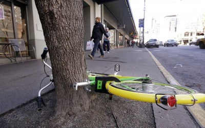 dockless vehicles