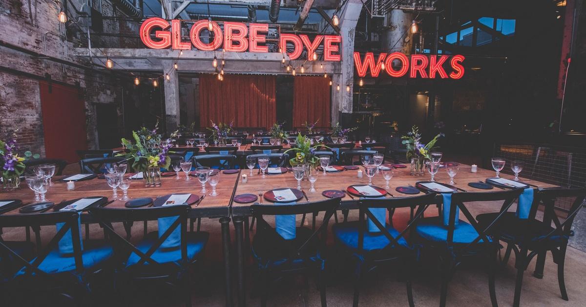 Look Inside Globe Dye Works Philly S New Industrial Chic Wedding Venue