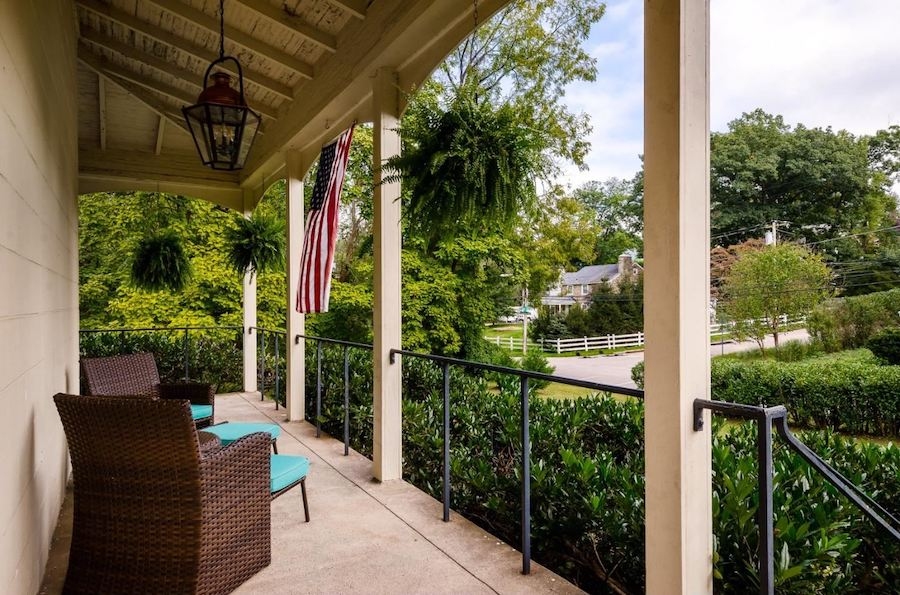 house for sale andorra farmhouse front porch view