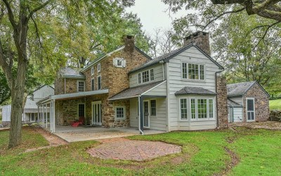 house for sale collegeville updated farmstead exterior