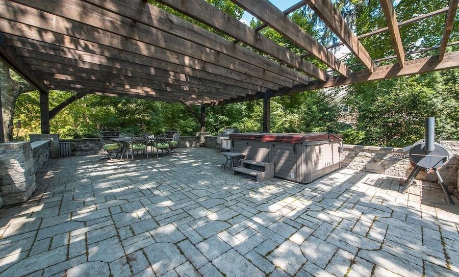 house for sale elkins park edwardian manor patio