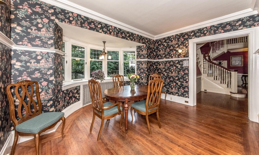 house for sale elkins park edwardian manor casual dining room