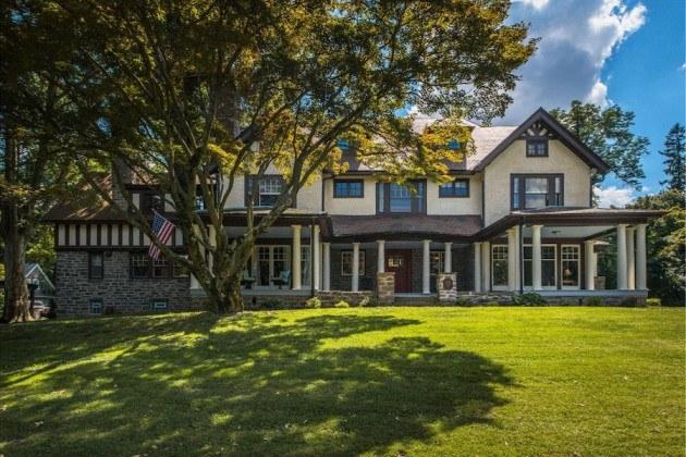 house for sale elkins park edwardian manor exterior front