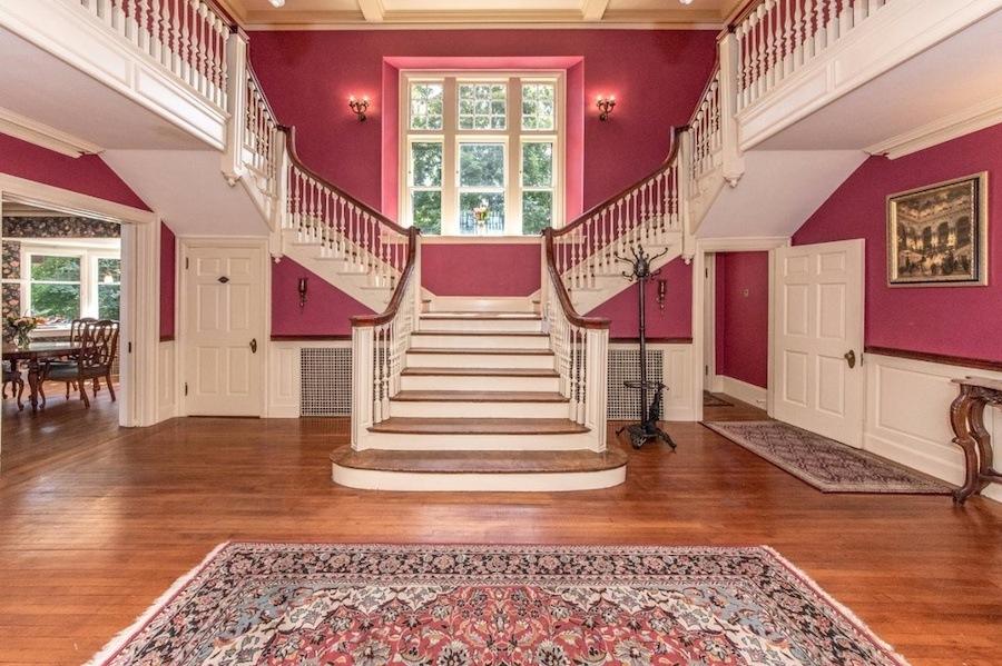 house for sale elkins park edwardian manor foyer