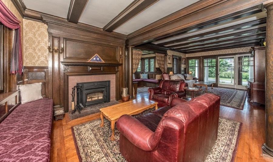 house for sale elkins park edwardian manor living room