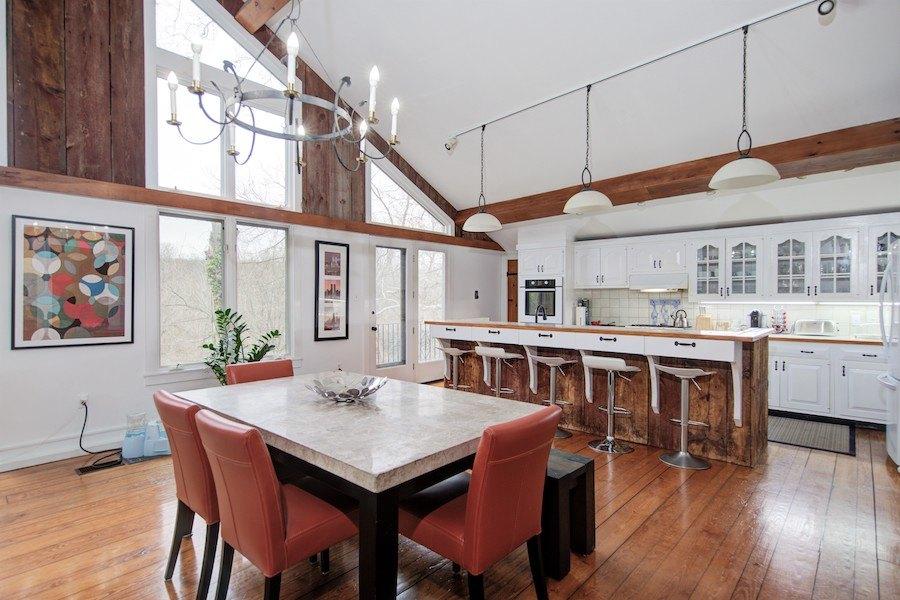 house for sale flourtown creekside barn kitchen
