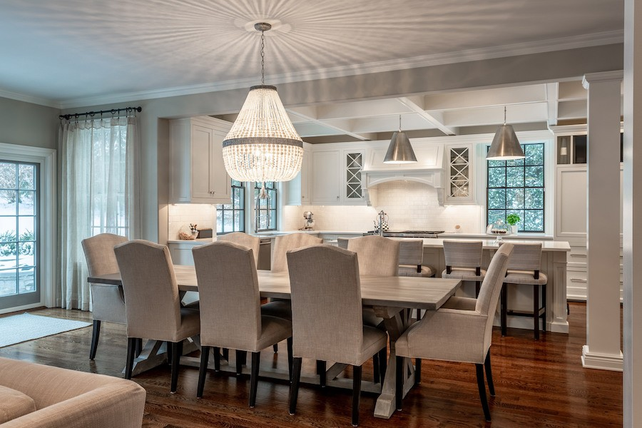 house for sale mt airy new colonial casual dining area