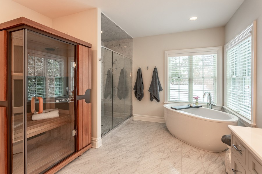 house for sale mt airy new colonial master bathroom
