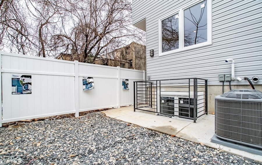 house for sale sharswood new construction unit a backyard