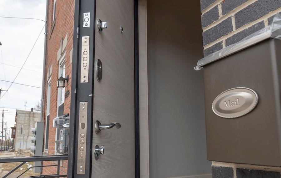 house for sale sharswood new construction high-security front door