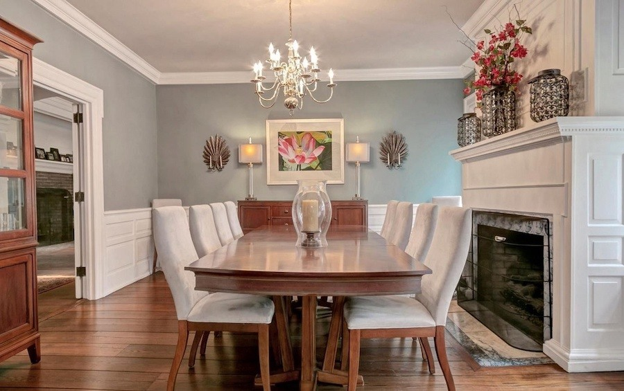 house for sale swarthmore riverview farm dining room