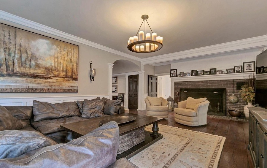 house for sale swarthmore riverview farm family room