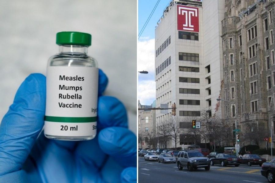 mumps vaccine mmr temple university petition