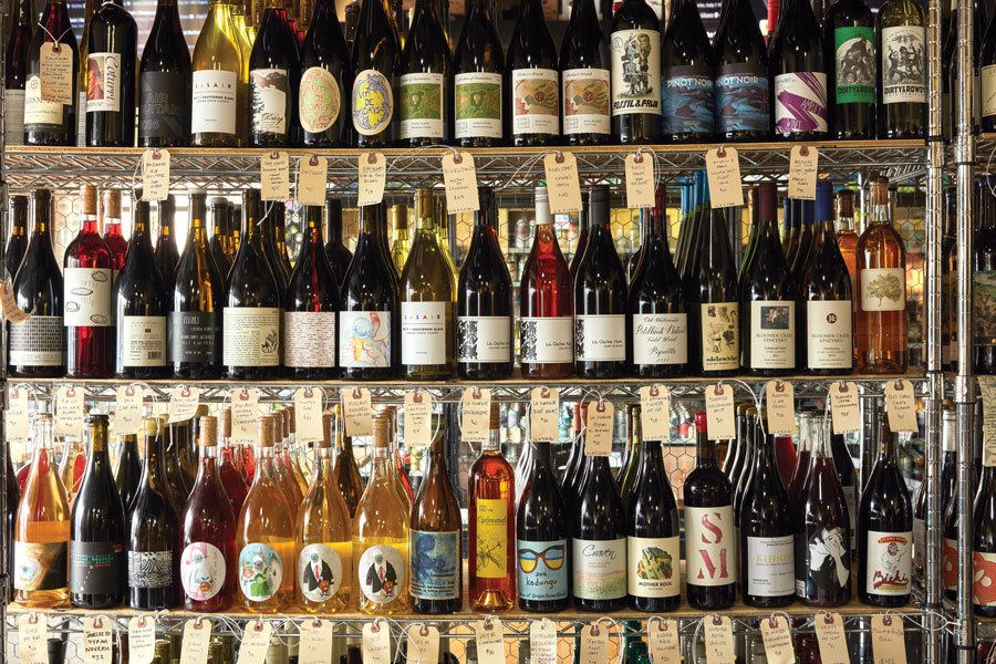 natural wine shops
