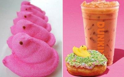 peeps dunkin' donuts dunkin donuts