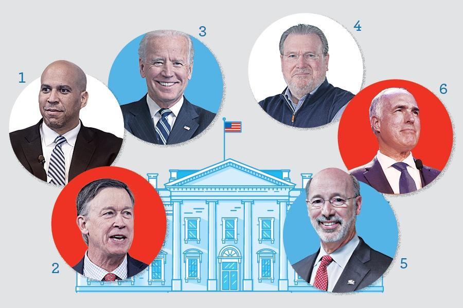 pennsylvania presidential candidates