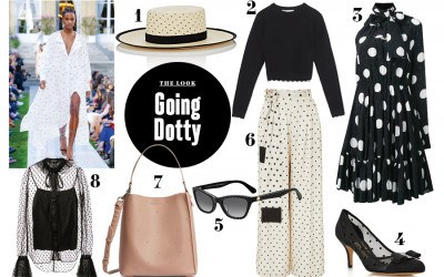 polka dot outfit inspiration