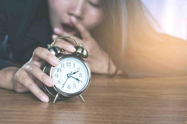 Sleep less