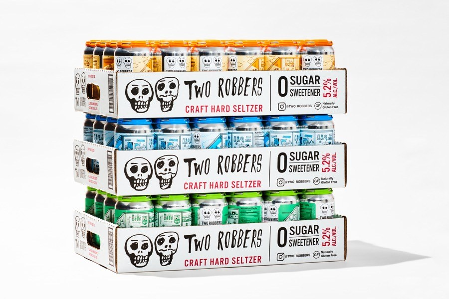 two robbers hard seltzer