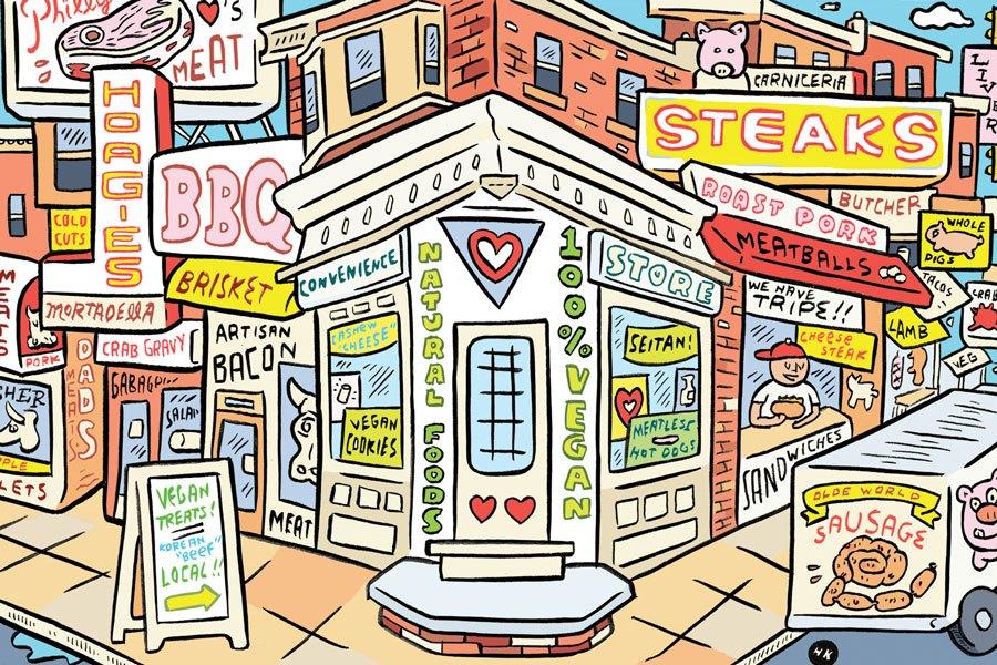 vegan convenience store