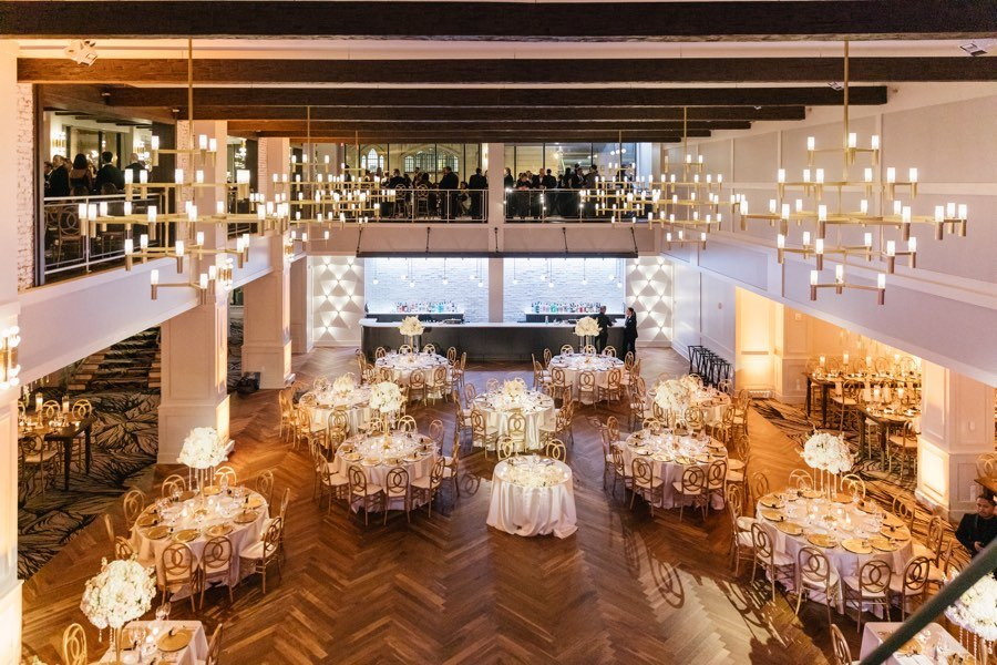 Peek Inside A Wedding At The Lucy Cescaphe S Newest Venue