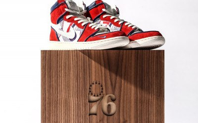 sixers custom shoes