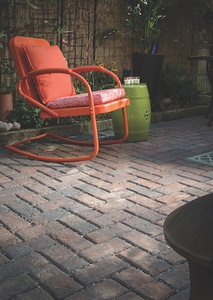 biophilic design examples rear patio on old york road