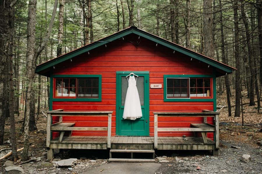 Camp Timber Tops Wedding