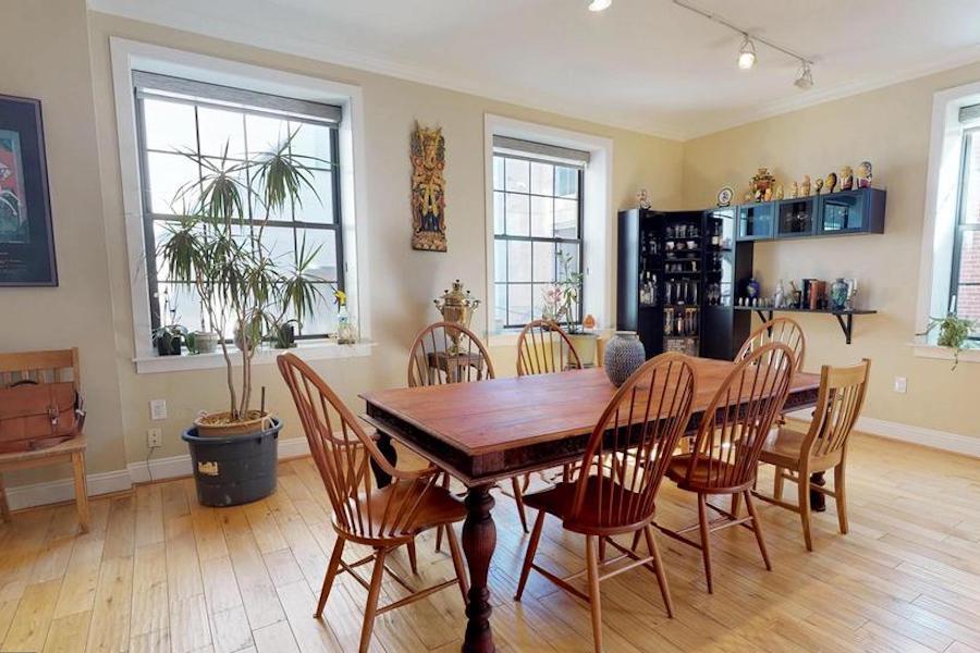 condo for sale bella vista open plan condo dining room