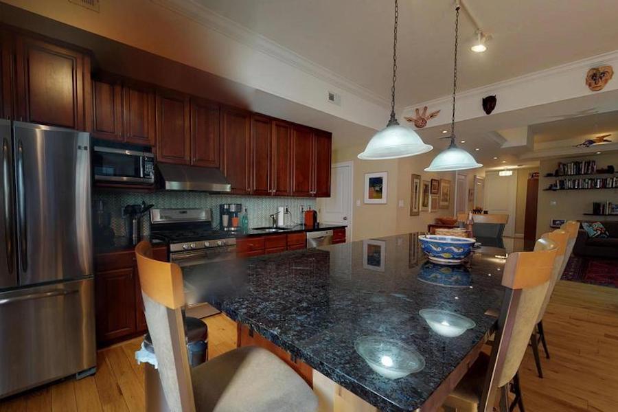 condo for sale bella vista open plan condo kitchen