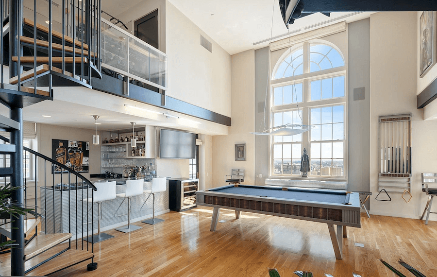 condo for sale rittenhouse lanesborough penthouse game room