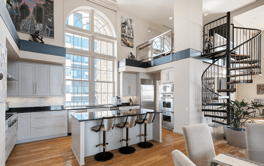 condo for sale rittenhouse lanesborough penthouse kitchen