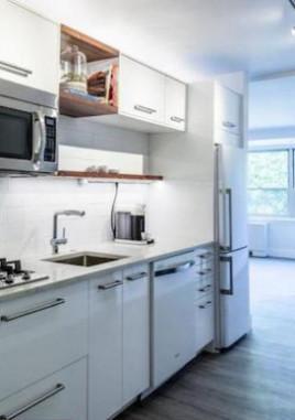 condo for sale rittenhouse square studio kitchen